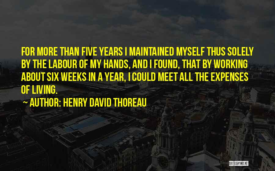 Weeks Quotes By Henry David Thoreau