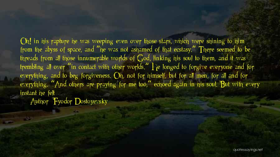 Weeping Boy Quotes By Fyodor Dostoyevsky