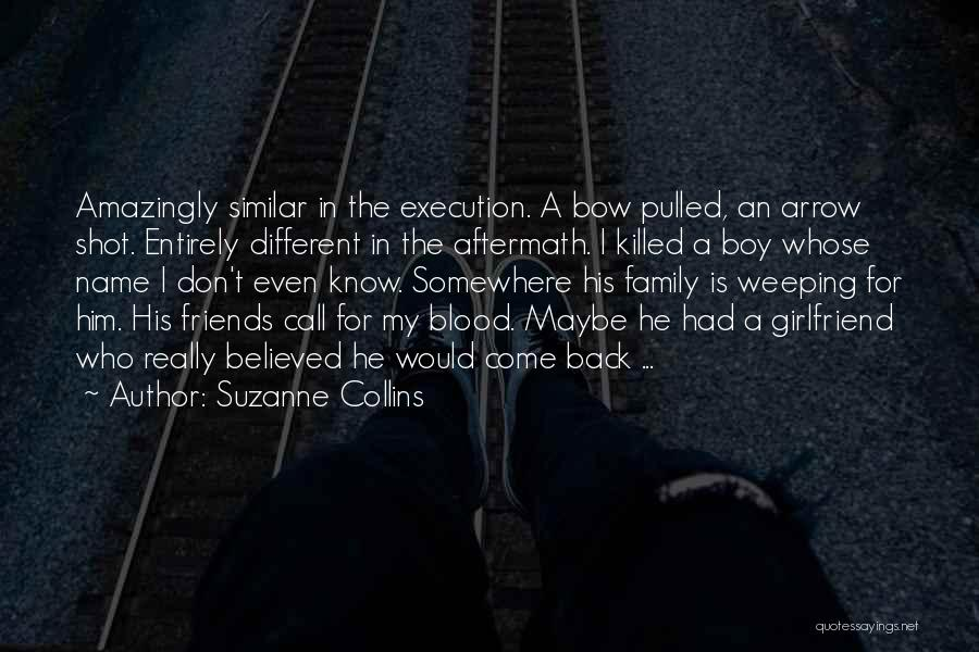 Weeping Boy Quotes By Suzanne Collins
