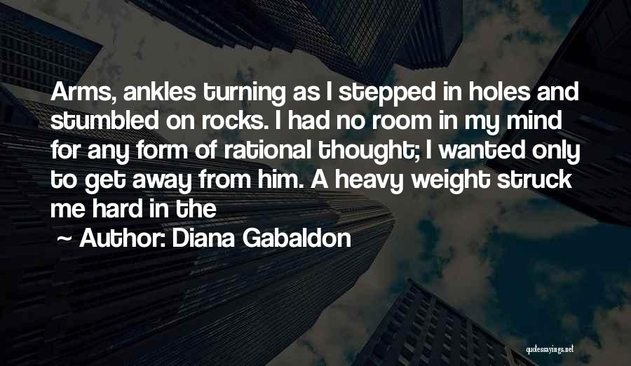 Weight Room Quotes By Diana Gabaldon