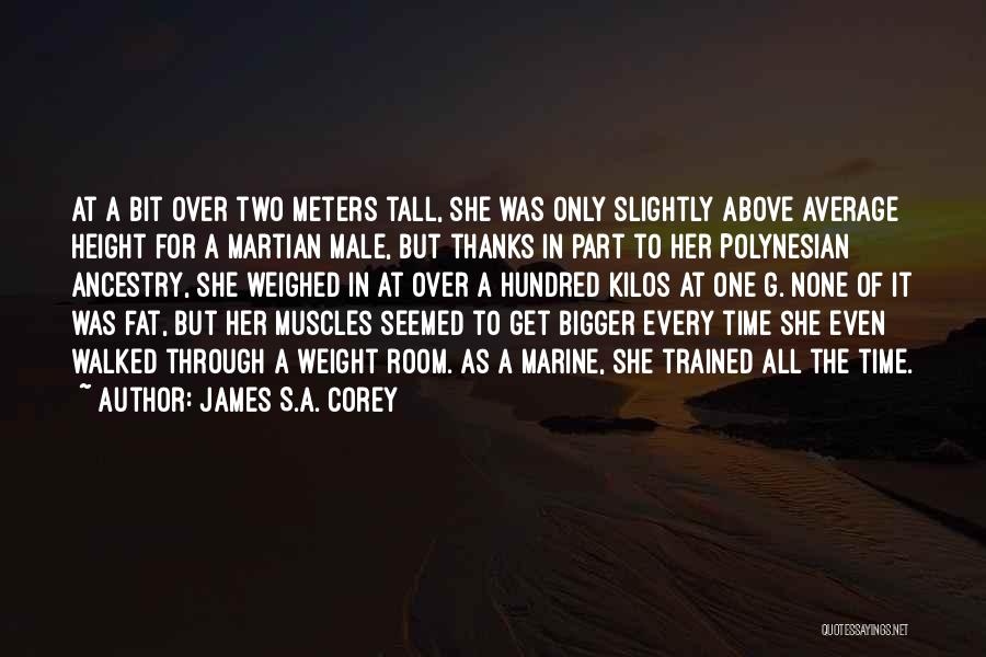 Weight Room Quotes By James S.A. Corey