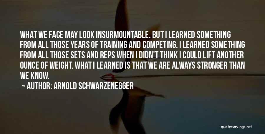 Weight Training Quotes By Arnold Schwarzenegger