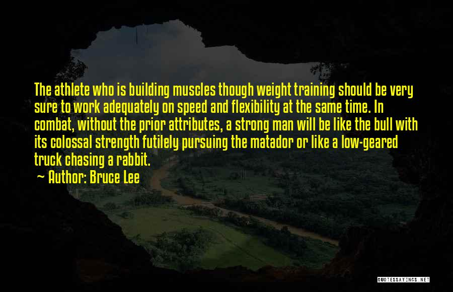 Weight Training Quotes By Bruce Lee