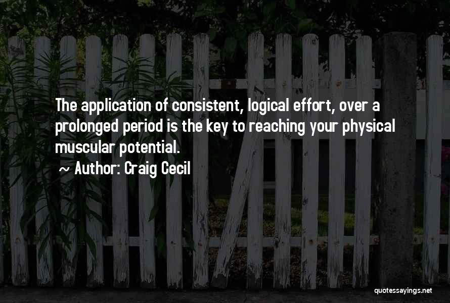 Weight Training Quotes By Craig Cecil