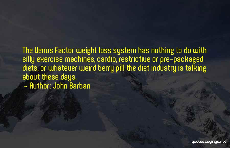 Weird And Silly Quotes By John Barban