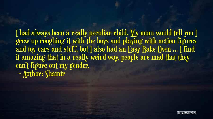 Weird But Amazing Quotes By Shamir