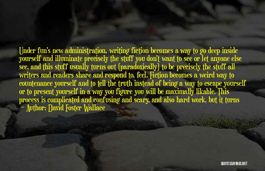 Weird But Deep Quotes By David Foster Wallace