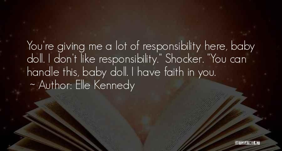 Welcome Baby Quotes By Elle Kennedy