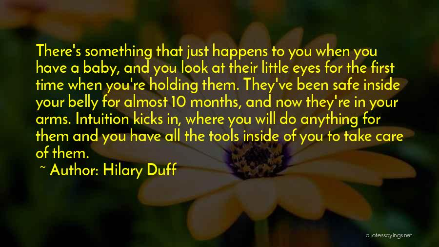Welcome Baby Quotes By Hilary Duff