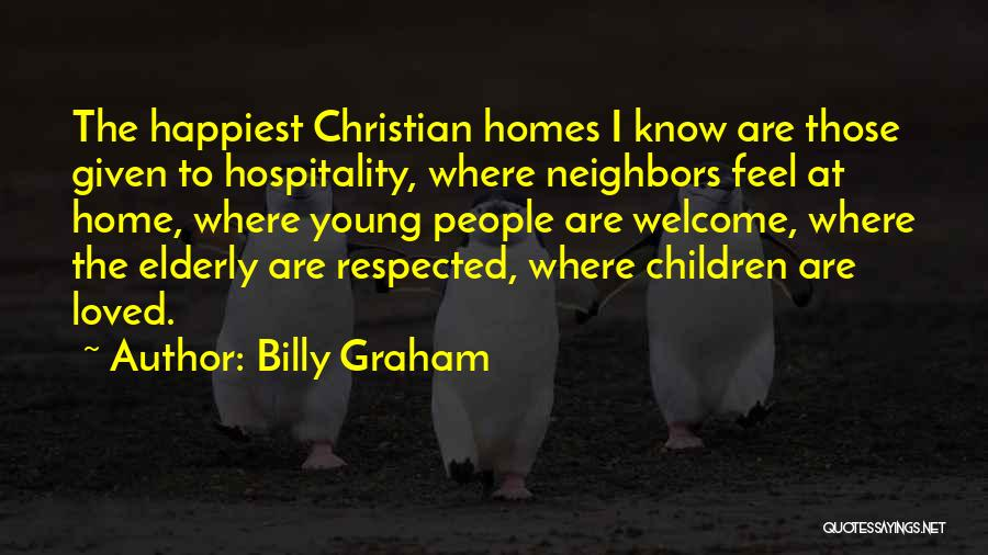 Welcome Quotes By Billy Graham