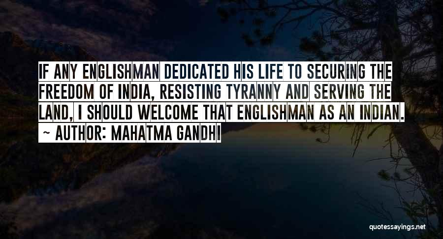 Welcome Quotes By Mahatma Gandhi