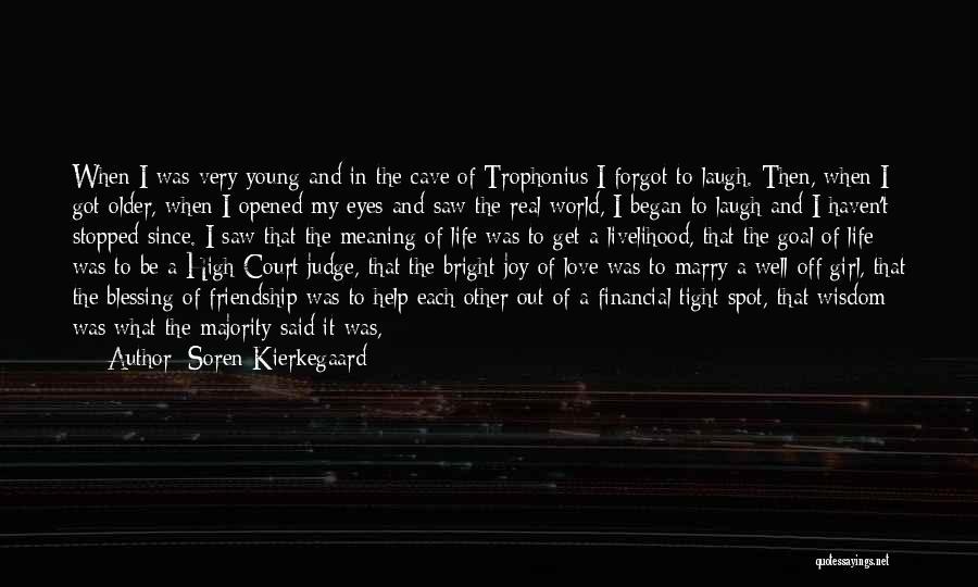 Welcome Speech Quotes By Soren Kierkegaard