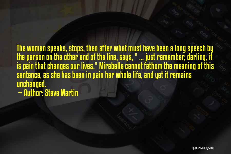 Welcome Speech Quotes By Steve Martin