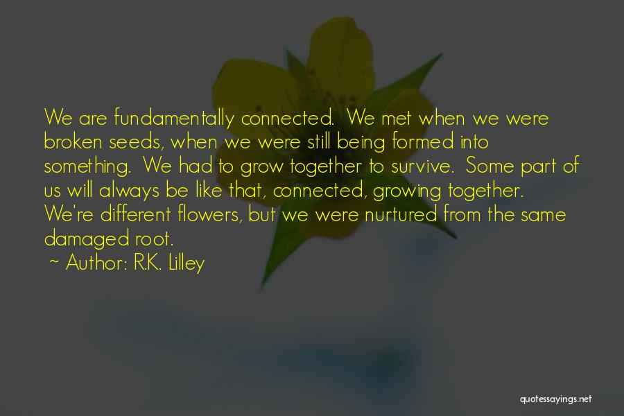 We'll Always Be Together Quotes By R.K. Lilley