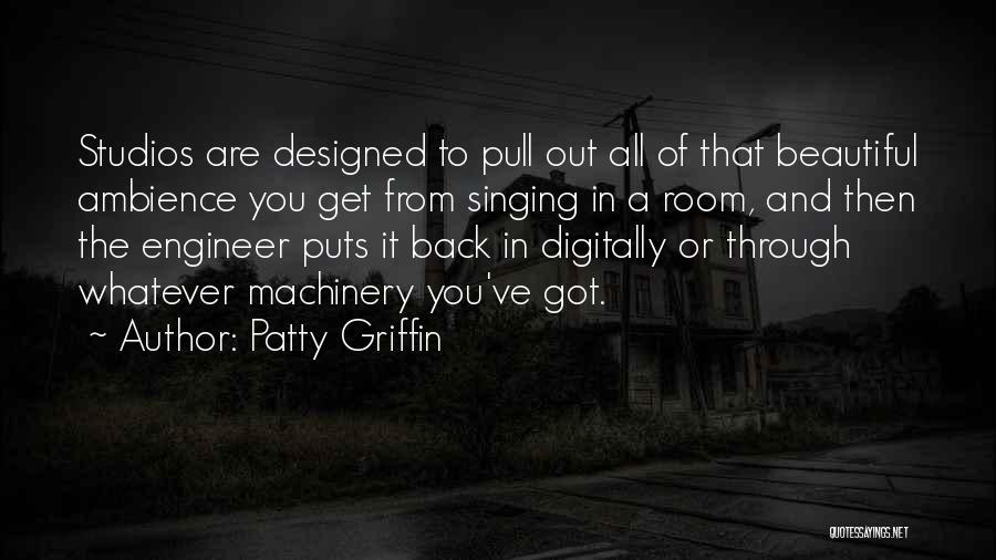 Well Designed Pull Quotes By Patty Griffin