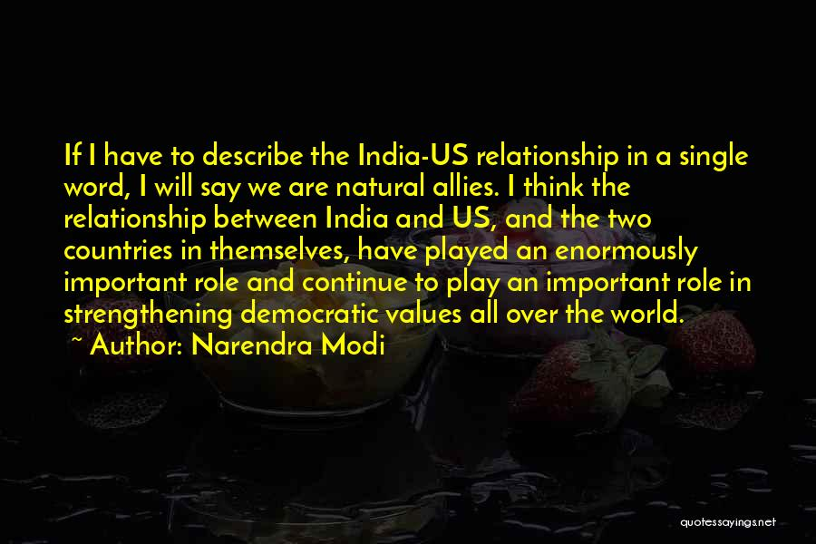 Well Played India Quotes By Narendra Modi