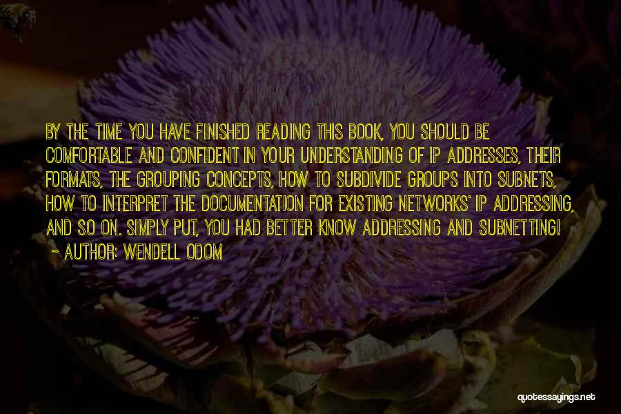 Wendell Odom Quotes 901200