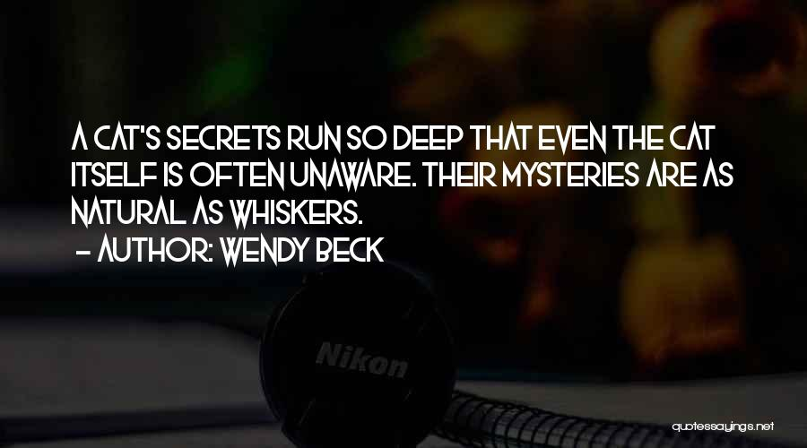 Wendy Beck Quotes 100626