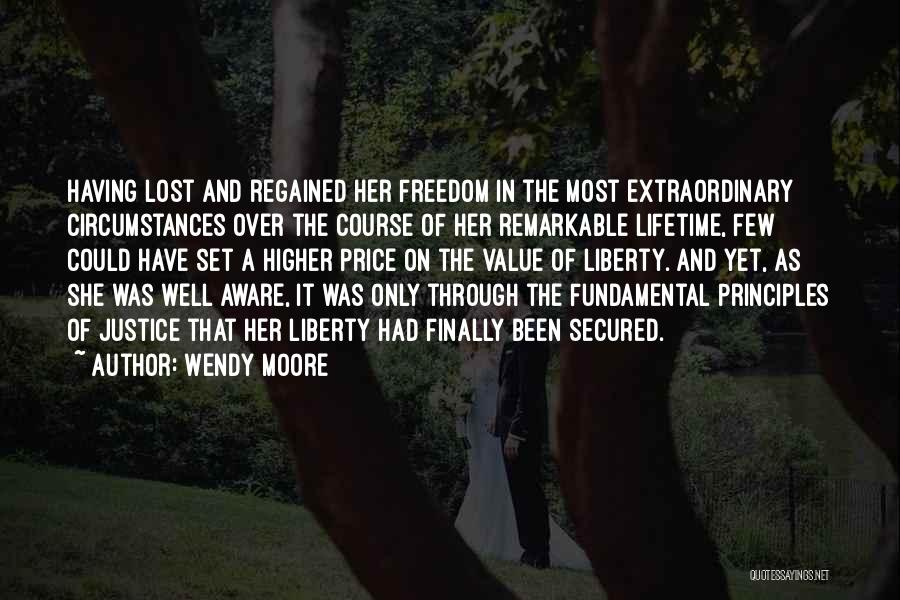Wendy Moore Quotes 1283496