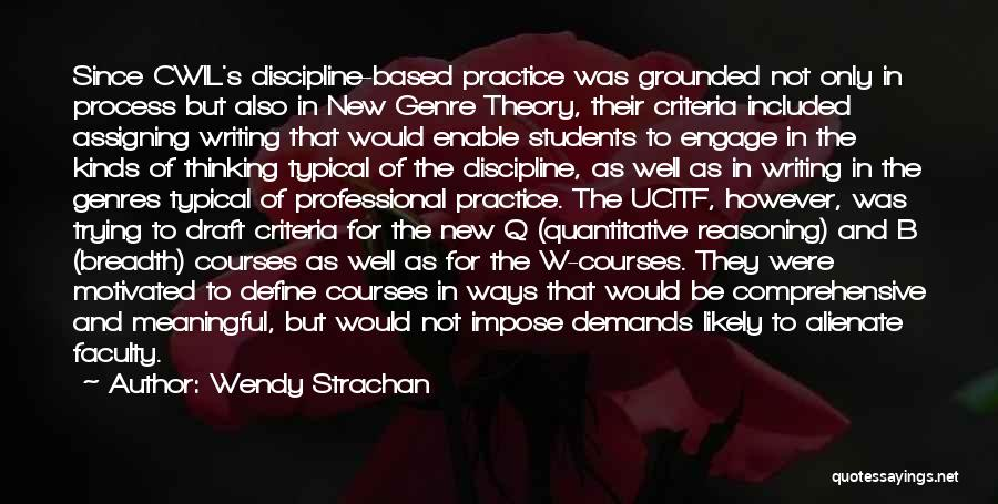 Wendy Strachan Quotes 365536