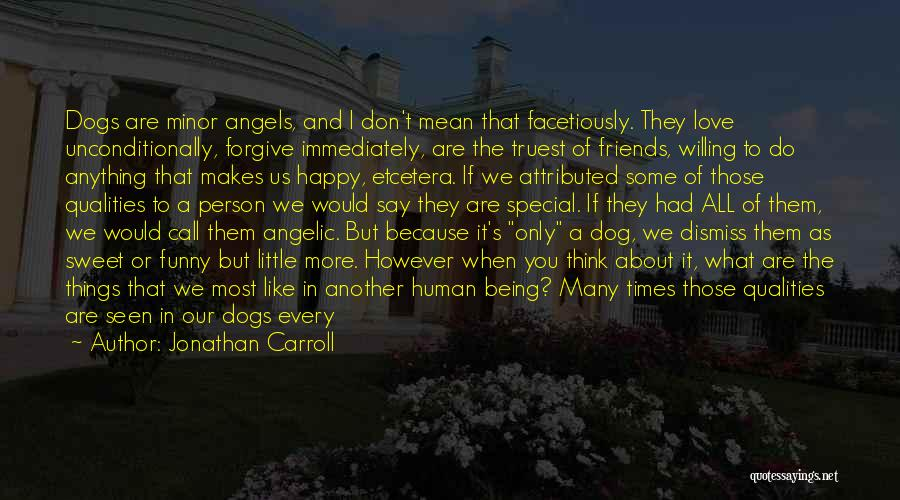 We're All Angels Quotes By Jonathan Carroll