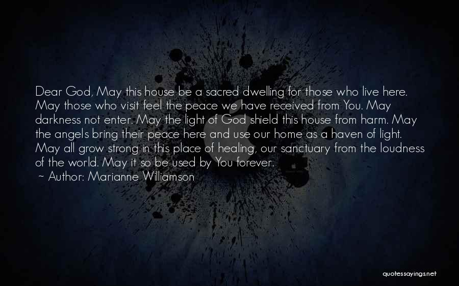 We're All Angels Quotes By Marianne Williamson