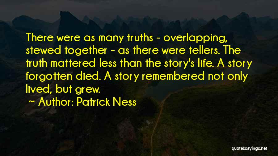Were Not Together Quotes By Patrick Ness