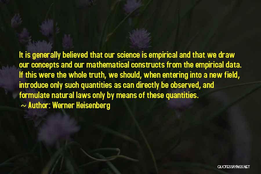 Werner Heisenberg Quotes 111607