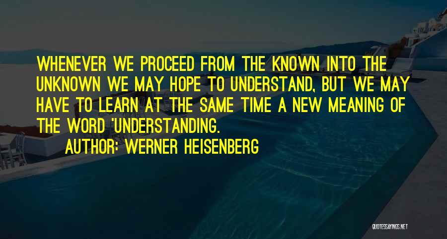 Werner Heisenberg Quotes 119123
