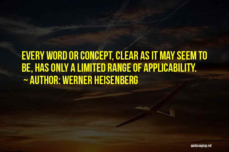 Werner Heisenberg Quotes 1235699