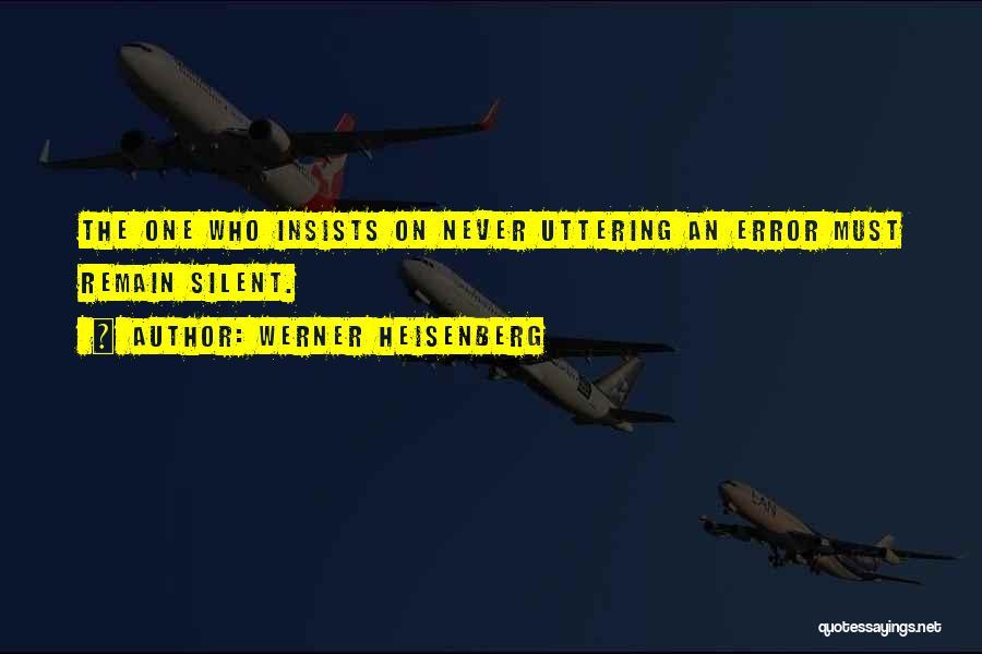 Werner Heisenberg Quotes 1440433