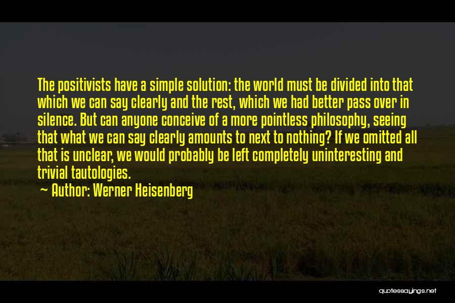 Werner Heisenberg Quotes 231519