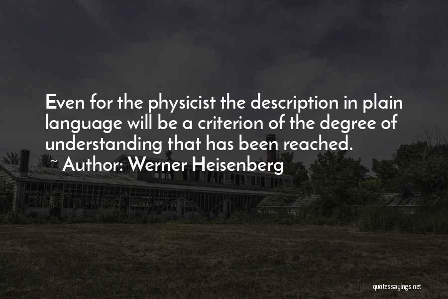 Werner Heisenberg Quotes 959610