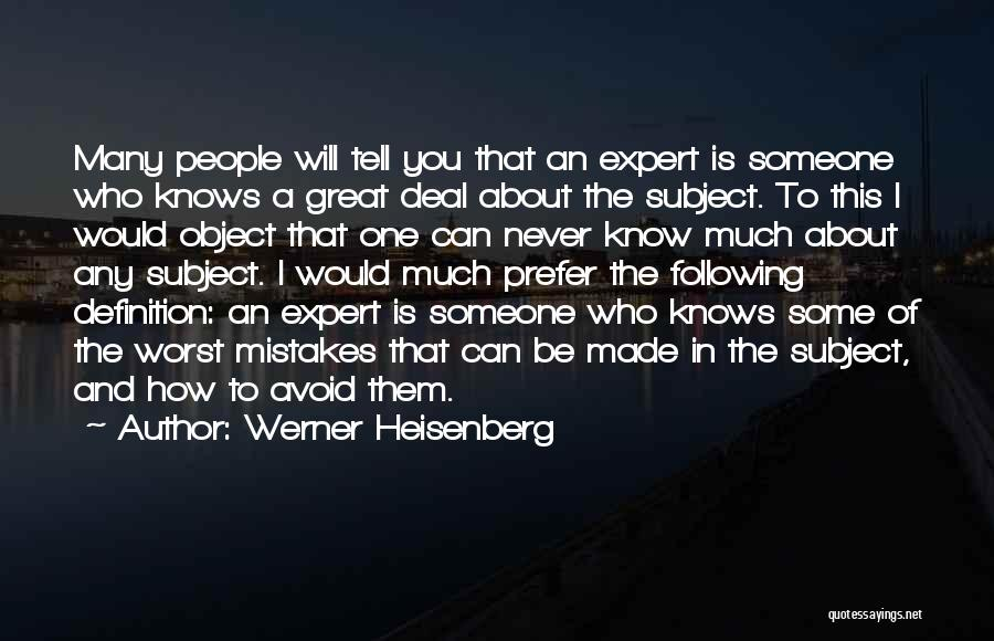 Werner Heisenberg Quotes 977348