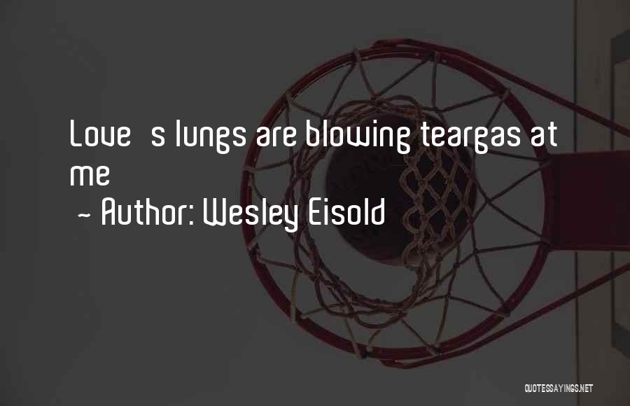 Wesley Eisold Quotes 1704368