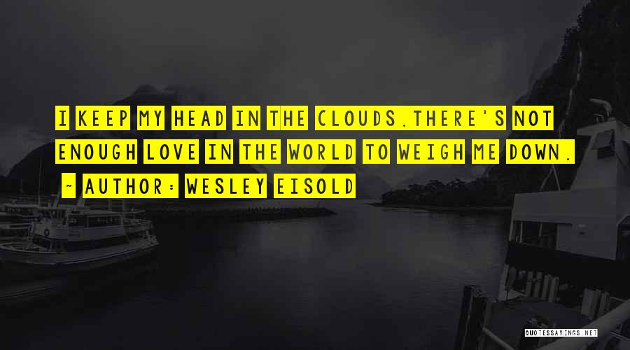 Wesley Eisold Quotes 390349