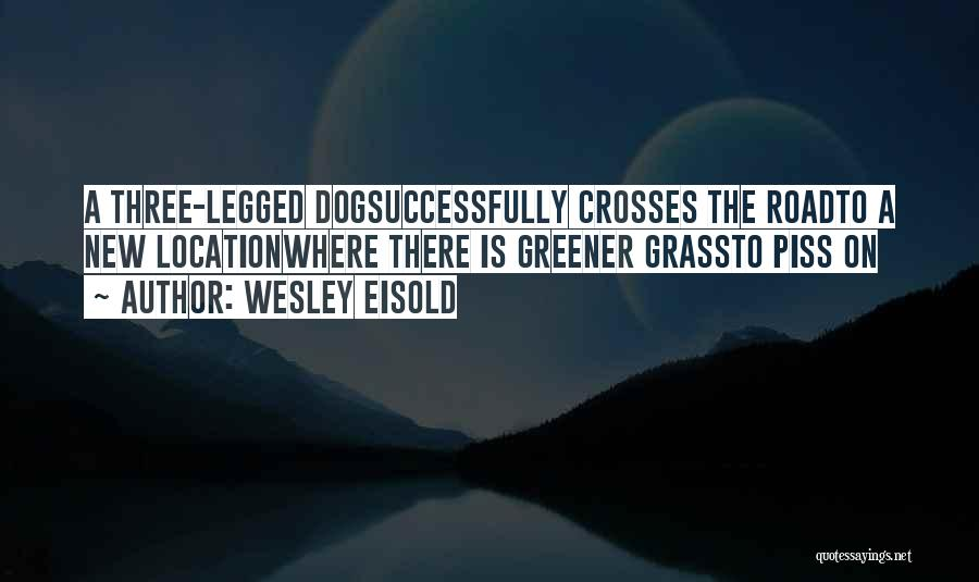 Wesley Eisold Quotes 709048