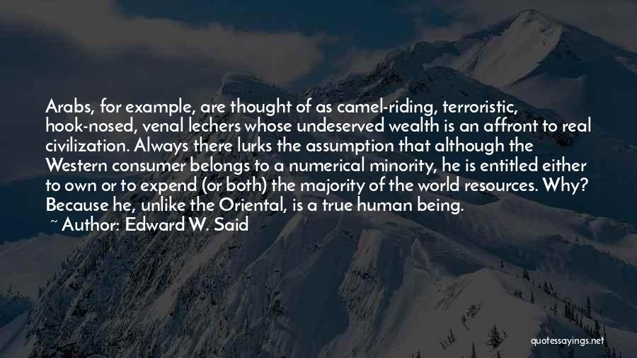 Western Riding Quotes By Edward W. Said