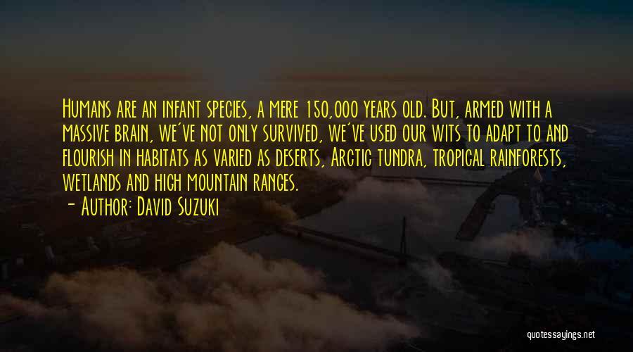 Wetlands Quotes By David Suzuki