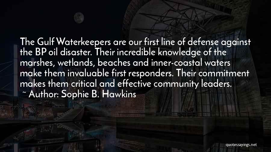 Wetlands Quotes By Sophie B. Hawkins