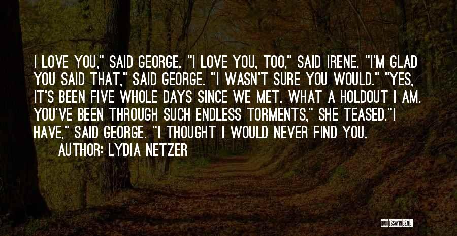 We've Never Met Quotes By Lydia Netzer