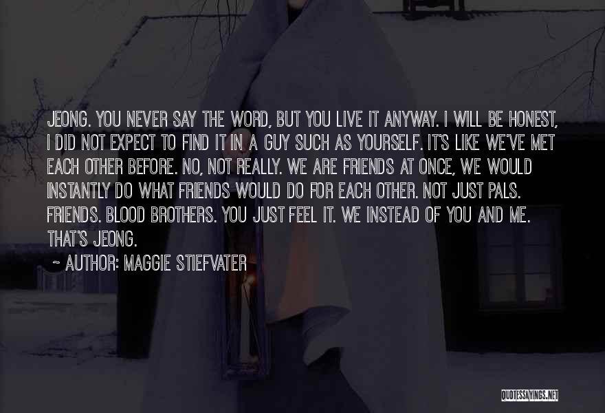 We've Never Met Quotes By Maggie Stiefvater