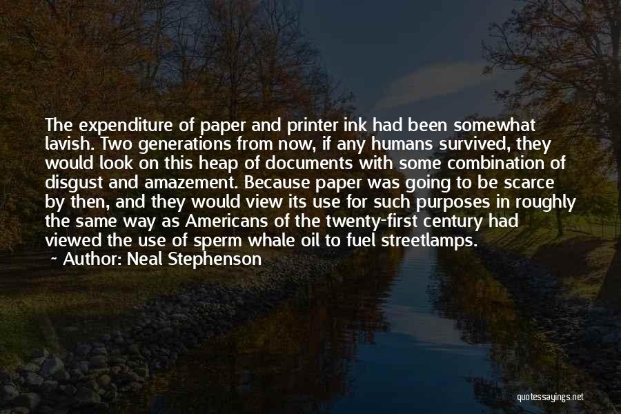 Whale Done Quotes By Neal Stephenson