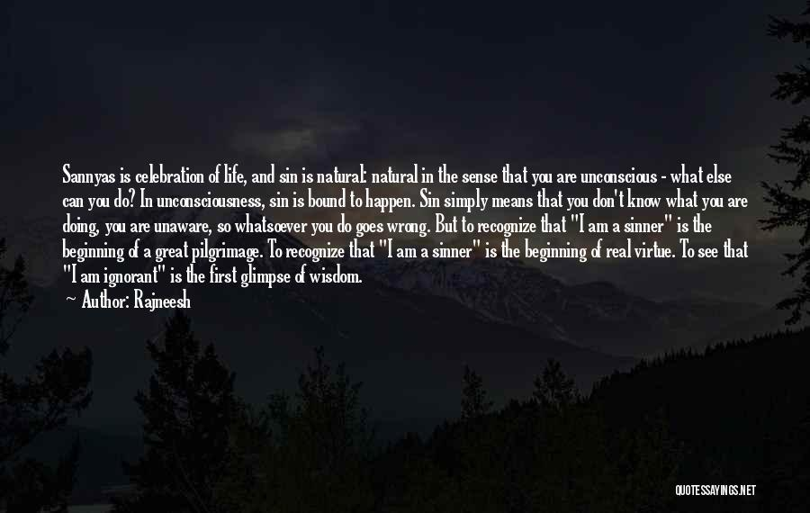 What Am I Doing Wrong Quotes By Rajneesh
