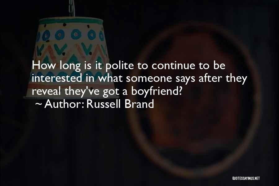 What Comedy Is Quotes By Russell Brand