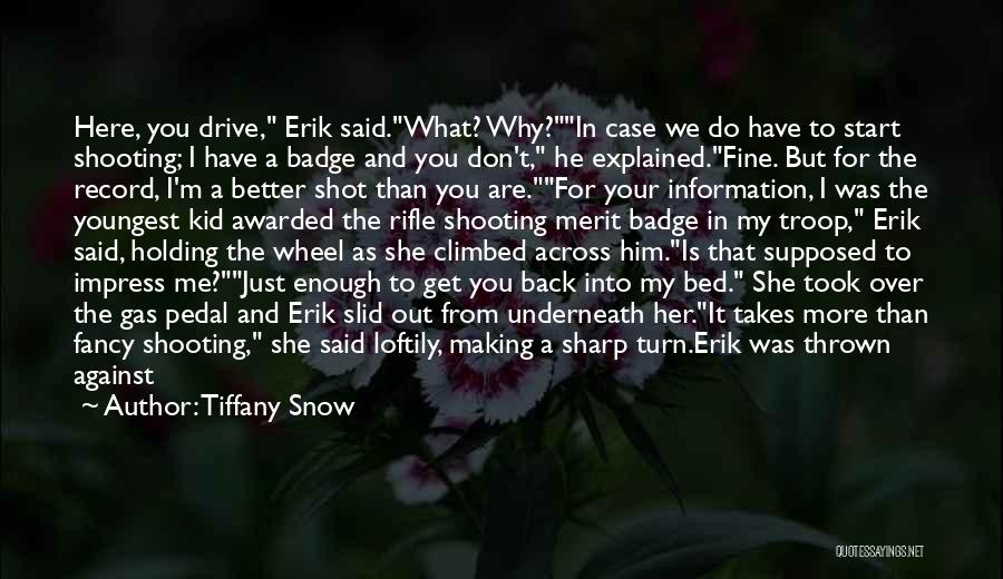 What Comedy Is Quotes By Tiffany Snow