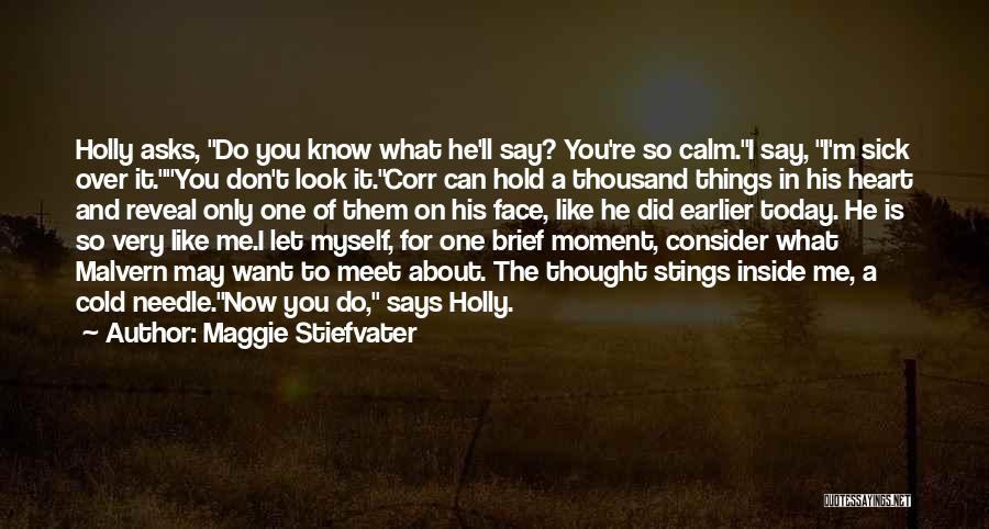 What Did You Do Today Quotes By Maggie Stiefvater