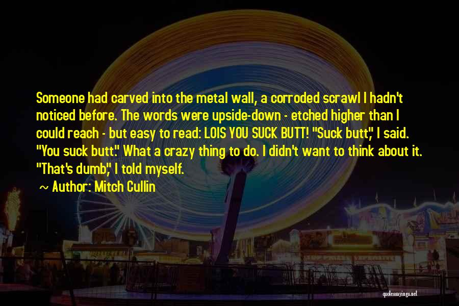 What Do You Want Quotes By Mitch Cullin