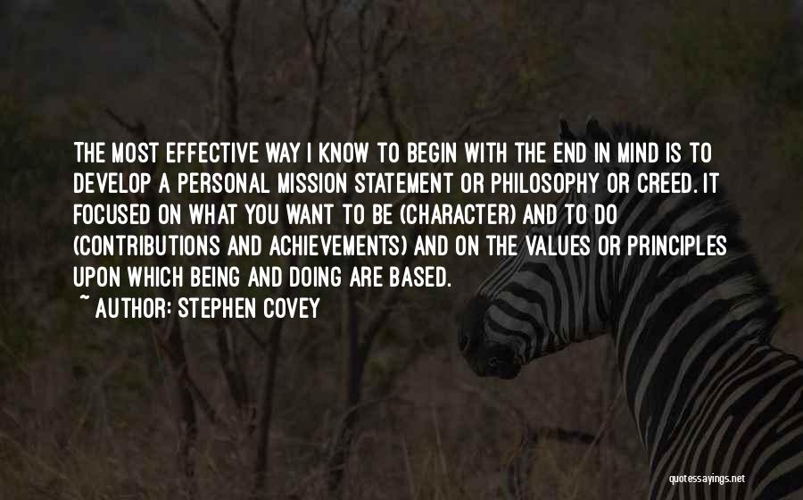 What Do You Want Quotes By Stephen Covey