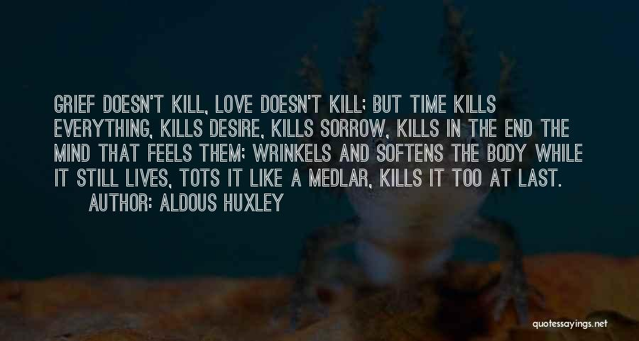 What Doesn't Kill U Quotes By Aldous Huxley